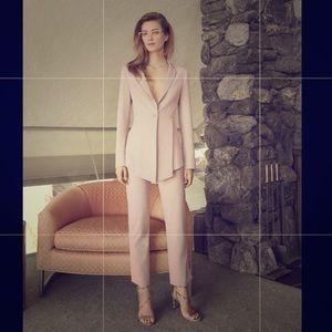 Bcbgmaxazria blush pink blazer NWT